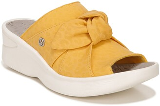 Bzees Smile Wedge Slide Sandal