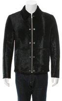Balenciaga Shearling-Lined Ponyhair Jacket w/ Tags