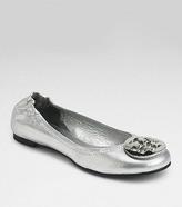 Metallic Reva Ballet Flat