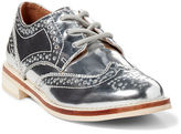 Ralph Lauren Little Kid Metallic Leather Oxford