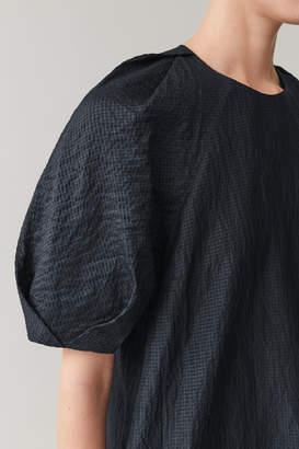 Cos LONG LINEN-SILK DRESS