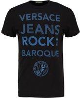 Versace Jeans Print Tshirt Nero