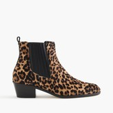 J.Crew Chelsea calf hair boots