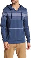 Public Opinion Long Sleeve Stripe Knit Hoodie