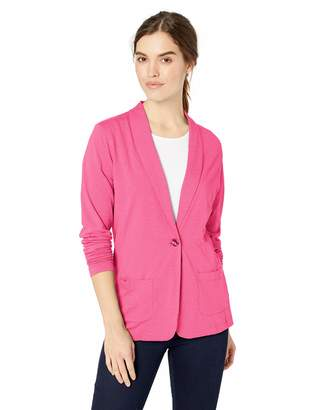 D And Jones D & Jones Women's DEJN- DP462W Shawl Collar Cardigan