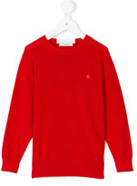Paolo Pecora Kids - crew neck jumper - kids - Cotton - 6 yrs