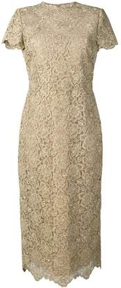Valentino fitte lace dress
