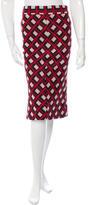 Diane von Furstenberg Knee-Length Berbenner Skirt w/ Tags