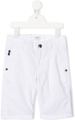 Boss Kidswear Stitch Detail Shorts