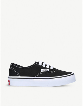 Vans Authentic cotton-canvas skate trainers 5-8 years
