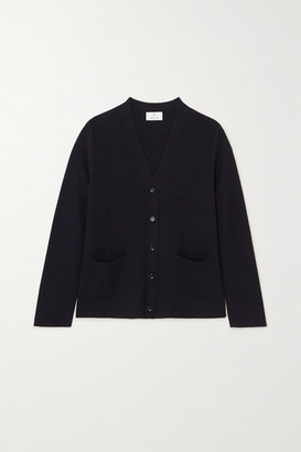 Allude Wool Cardigan - Navy