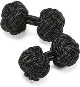 Charles Tyrwhitt Black knot cuff links