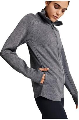 Varley Rossbury Sweat (Black Marl) Women's Clothing
