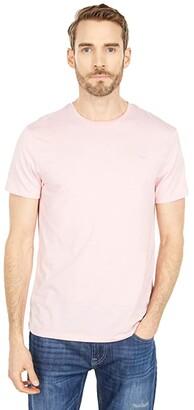 Buffalo David Bitton Kaset Short Sleeve Knit Tee (Blossom) Men's Clothing