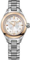 Ebel Onde ladies' rose gold bezel bracelet watch
