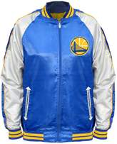 Majestic Big & Tall Golden State Warriors Satin Jacket