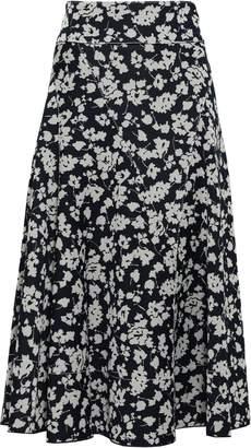 Derek Lam Jacquard-knit Midi Skirt