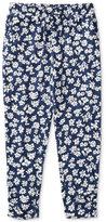 Ralph Lauren Floral-Print Pants, Toddler & Little Girls (2T-6X)