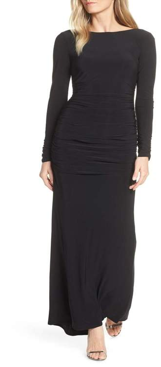 Vince Camuto Ruched Evening Dress