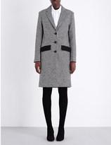 Maje Grako wool-blend coat
