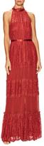 Temperley London Constance Cotton Panel Maxi Dress