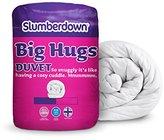 Slumberdown Big Hugs Summer Cool 4.5 Tog Duvet, White, Single