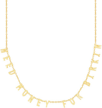 Sphera Milano 18K Over Silver Cz Necklace