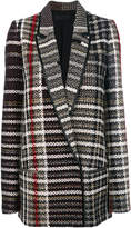 Haider Ackermann tweed coat