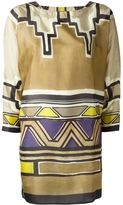 Alberta Ferretti printed tunic - women - Silk - 40