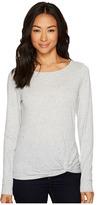 Lilla P Long Sleeve Twisted Hem Women's Clothing