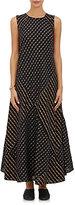 Ace&Jig Women's Troy Mixed-Striped Gauze Dress-BLACK