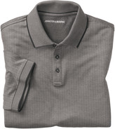 Johnston & Murphy Short-Sleeve Herringbone Polo