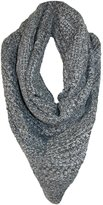 David & Young Women's Knit Triangle Winter Scarf