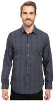 Calvin Klein Long Sleeve Infinite Cool Large Window Plaid Shirt