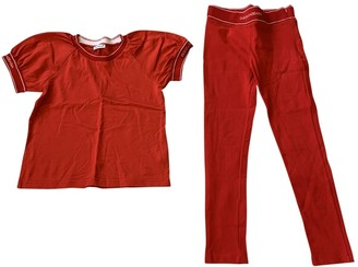 Dolce & Gabbana Red Cotton Outfits