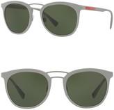 Prada Linea Rossa 54mm Phantos Square Sunglasses