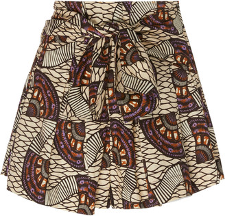 Ulla Johnson Paloma Cotton High-Waisted Shorts