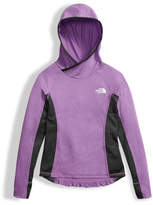 The North Face Girls' Long-Sleeve Reactor Hoodie, Purple, Size XXS-XL