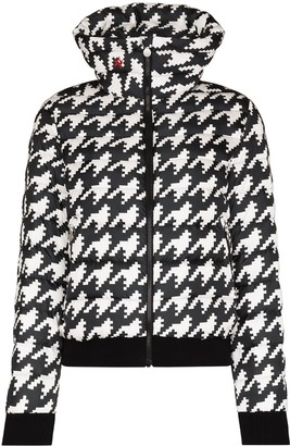Perfect Moment Queenie houndstooth ski jacket