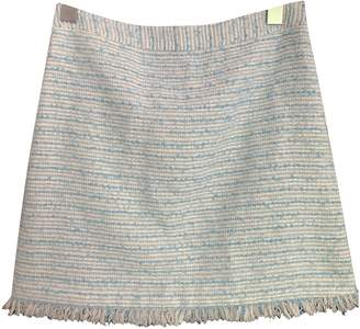Alice + Olivia Blue Tweed Skirt for Women