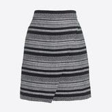 J.Crew Factory Tweed mini skirt