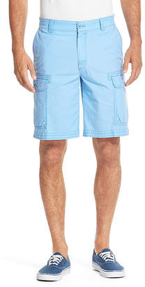 Izod Saltwater Cargo Shorts Mens Mid Rise Stretch Cargo Short
