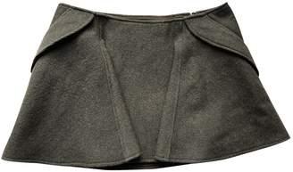 Theyskens' Theory Khaki Wool Skirts
