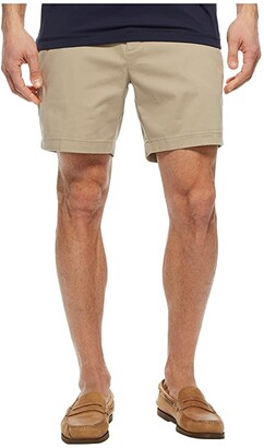 Nautica Stretch Twill Classic Fit Performance Deck Shorts (True Khaki) Men's Shorts