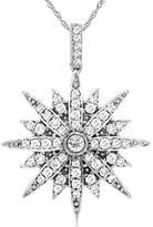 Diamante 5/9 CT Diamond 14K Gold Starburst Necklace by Royal Jewelry