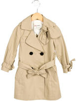 3.1 Phillip Lim Girls' Double-Breasted Trench Coat