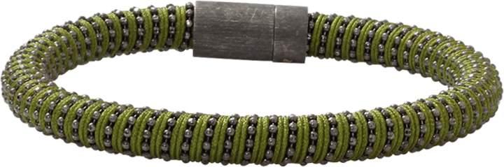 Carolina Bucci Green Twister Band Bracelet