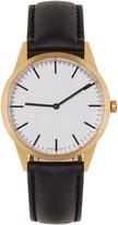 Uniform Wares Gold & Black C35 Watch