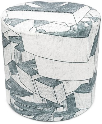 Off-White Arrows print stool