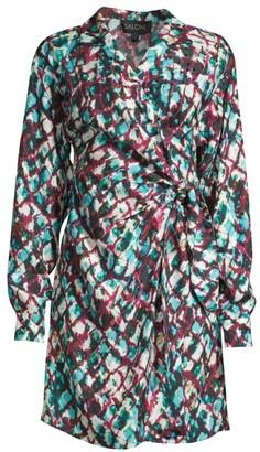 Saloni Mari Silk Dress